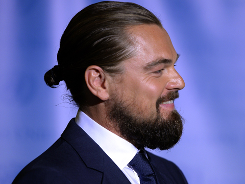 Leonardo DiCaprio: Rapping and Rocking a Man Bun (Video and Pics ...