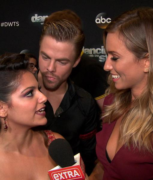 dwts week 3 bethany and derek dating