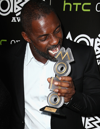 Idris Elba attended the MOBO Award nominations at Ronnie Scott's Jazz Club in London.