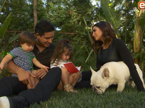 See the Cutest Video Ever of Mario Lopez's Daughter Interviewing Him!