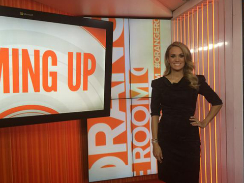 Carrie Underwood's First Words on Pregnancy: 'It Is Still Kind of Weird'