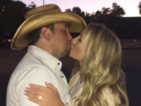 See the Engagement Ring Jason Aldean Gave to Brittany Kerr