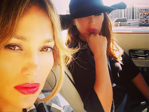 Jennifer Lopez, Her Twins and BFF Leah Remini in Car Accident