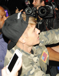 Shocking Pics! Did Justin Bieber Punch a Paparazzo in the Face?!