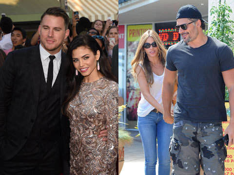 Hottest Double Date Ever! Channing Tatum & Jenna Dewan Hang with Joe Manganiello & Sofia Vergara