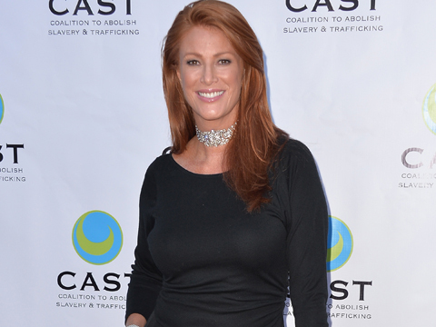 Angie Everhart Files for Bankruptcy After Bout with Cancer