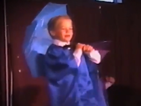 Throwback Video! Derek Hough Dancing to 'Singin' in the Rain' Is the Cutest Thing Ever