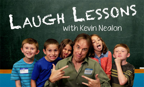 Watch! Comics Teach Kids Comedy on 'Laugh Lessons with Kevin Nealon'