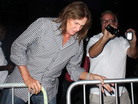 Bruce Jenner Lets His Hair Down, Shows Off Longer, Fuller 'Do