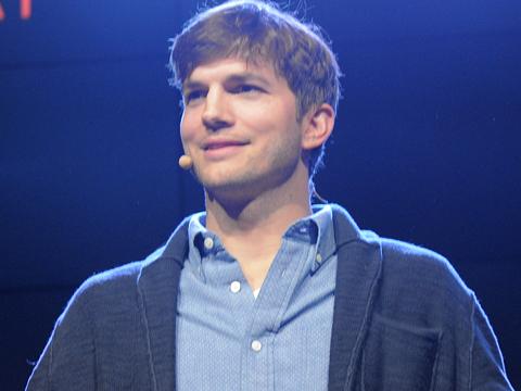 Ashton Kutcher's First Words on Baby Wyatt! | ExtraTV.com  Ashton Kutcher