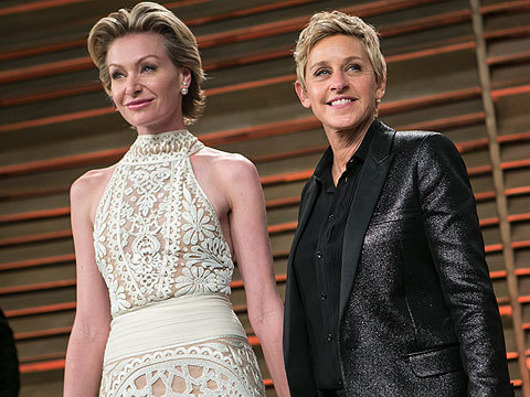 Video! Ellen DeGeneres & Portia de Rossi Respond to Baby Rumors