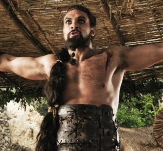 Extra Scoop: Watch Jason Momoa's Super Intense 'GoT' Audition Tape