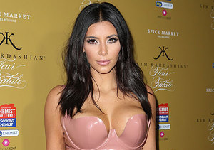 Kim Kardashian's First Words About the Nude Booty Shots That 'Broke the…