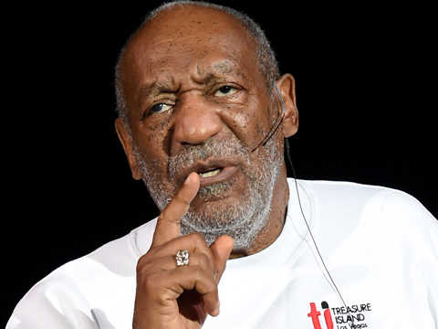 Bill Cosby Performs at Women's