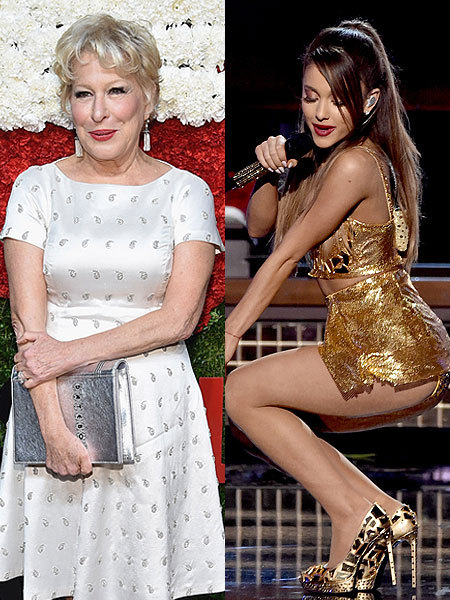 Bette Midler Slams Ariana Grandes Sexy Performances Says