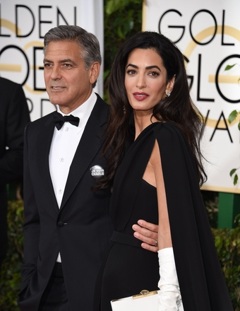 George Clooney at the Golden Globes January 2015 - Page 3 461364288-340x440