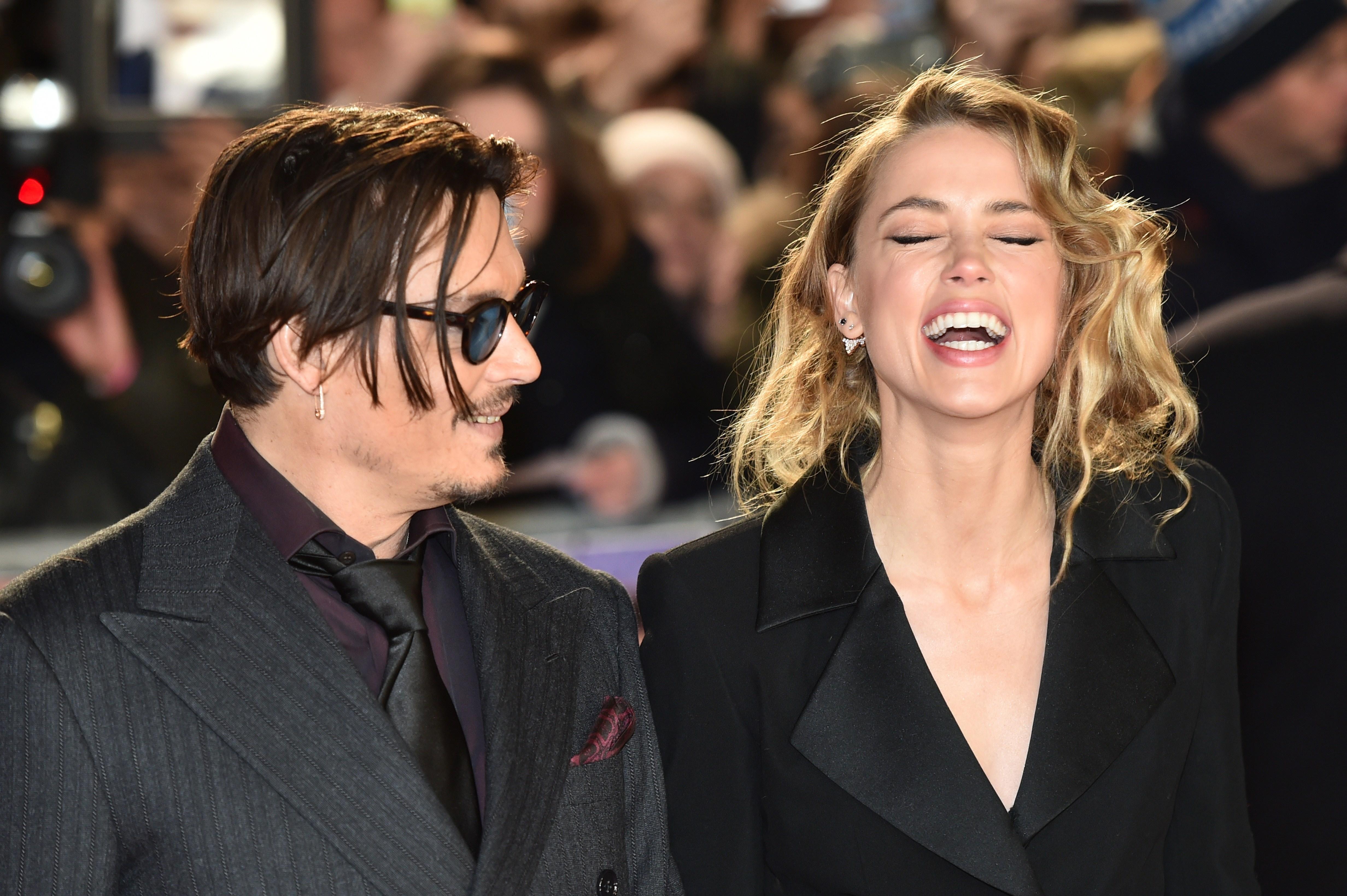 Johnny Depp and Amber ... Vanessa Paradis Rumors