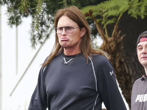 Bruce Jenner Spotted Pouting in Public, and New Details About His Supposed Docu-Series