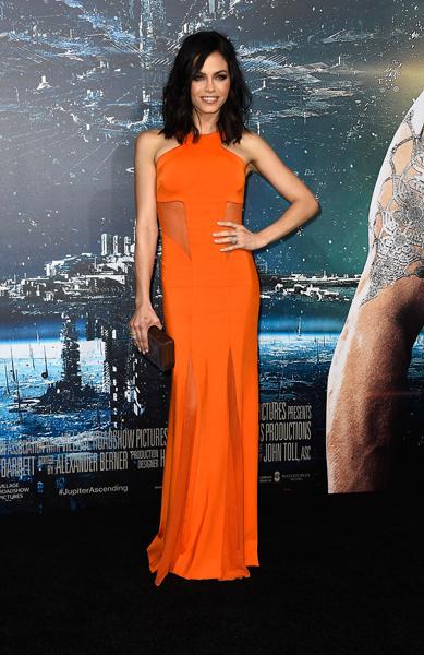 Look Of The Week Jenna Dewan Tatum Is A Tangerine Dream
