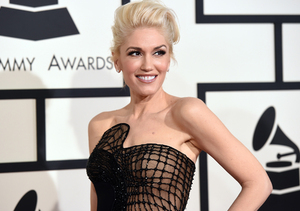 Gwen Stefani Stands Out at Grammys in Custom Atelier Versace Jumpsuit