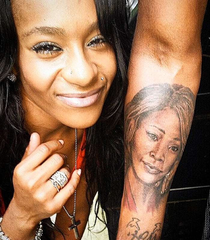 bobbi kristina brown tattoo