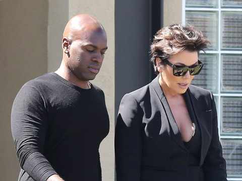 Kris Jenner And Corey Gamble Are Seen Together At A Lunch