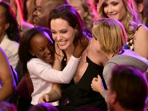 Angelina Jolie Makes Her First