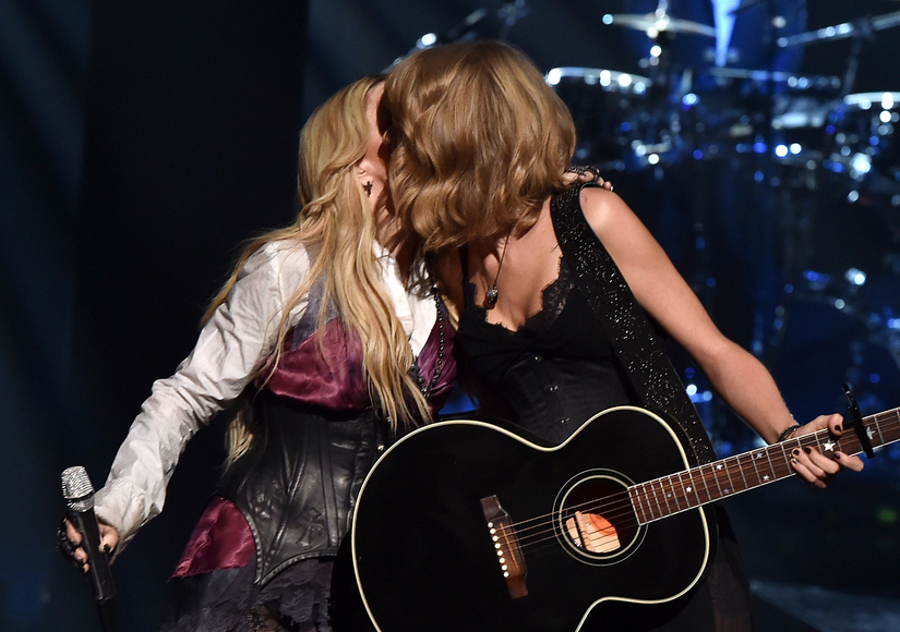 Shocking performance madonna amp taylor swift surprise iheartradio fans