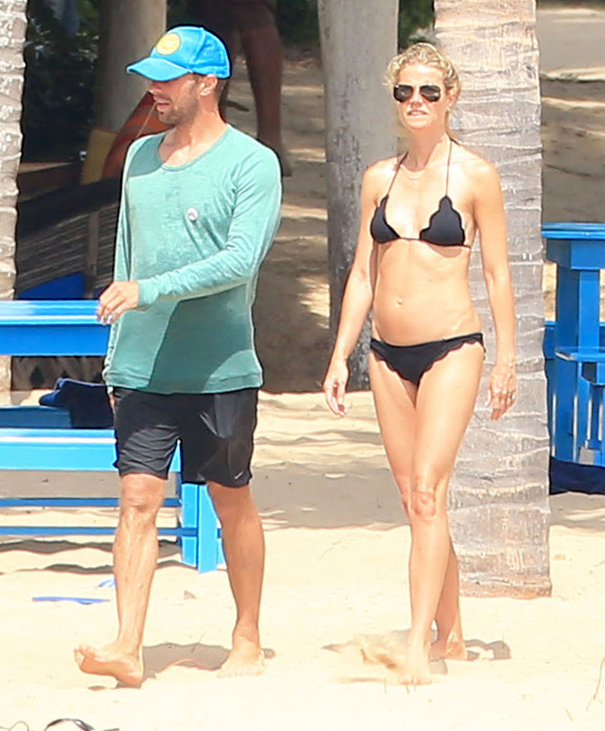 gwyneth paltrow shows off bikini body while on vacation