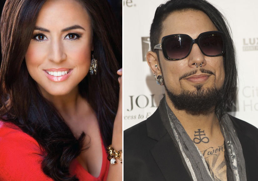 Dave Navarro couple