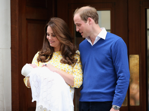 William and Kate's Daughter