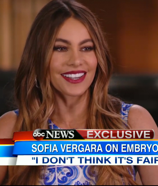 Sofia Vergara Hits Back at Ex in Morning Show Battle Over Frozen Embryos