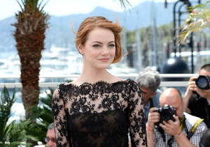 Emma Stone Rocked a Prom-Inspired Dress at Cannes!