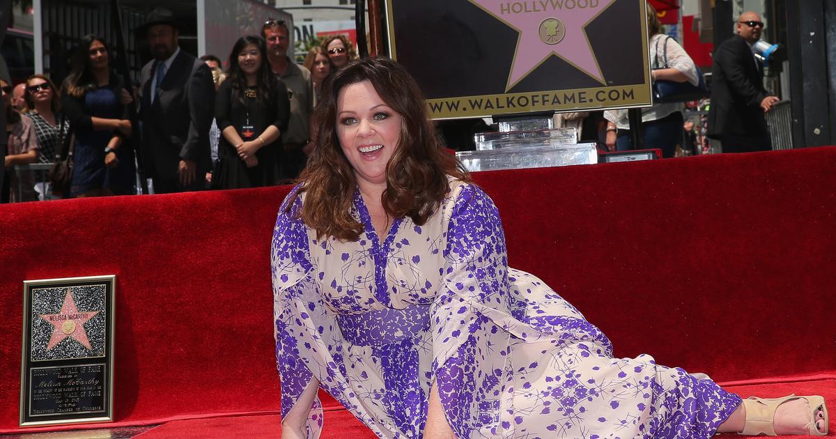 Melissa McCarthy's Slimdown on Display at Hollywood Walk ...