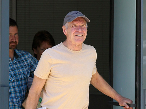 Pics: Harrison Ford Flies for First Time Since Plane Crash