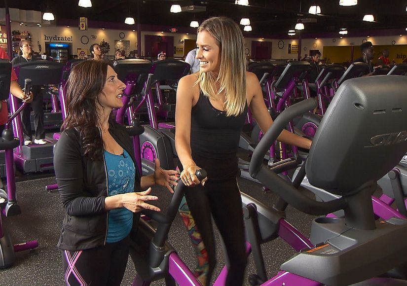Planet Fitness Expert Christine Lusita Shows Us Fun and Easy Exercises That…
