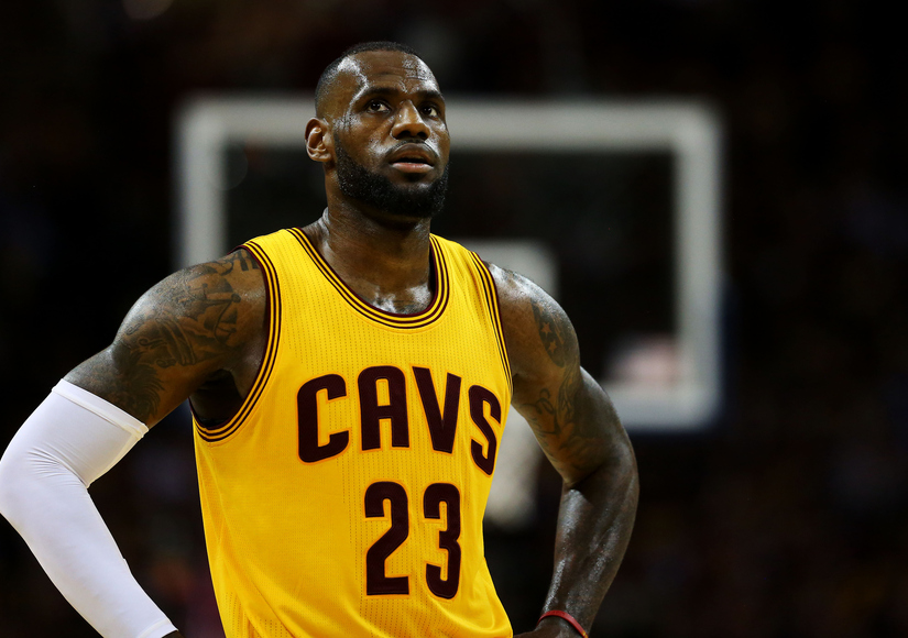 LeBron James 'Exposed' During NBA Finals, Twitter Reacts