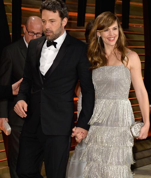 Ben Affleck & Jennifer Garner Reunite in the City of Love