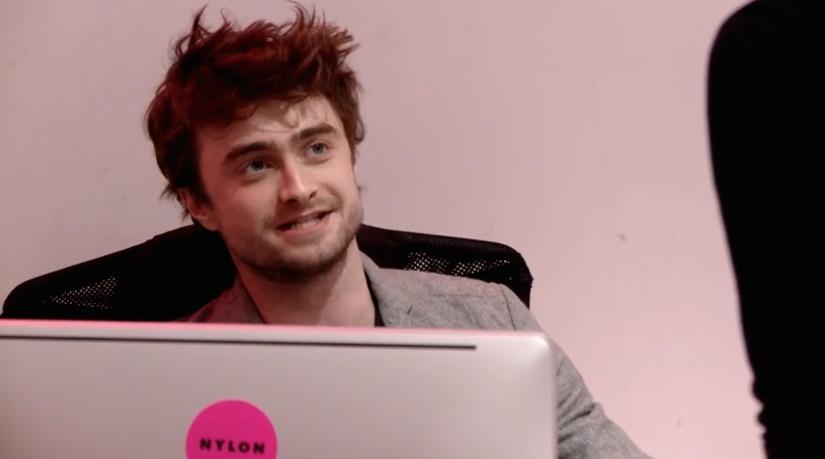 Daniel Radcliffe Worst Receptionist Ever Extratv Com