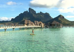 Check Out the Stunning Four Seasons in Bora Bora!