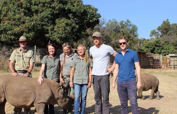 Prince Harry Is Hairier... and a Royal Friend of Rhinos