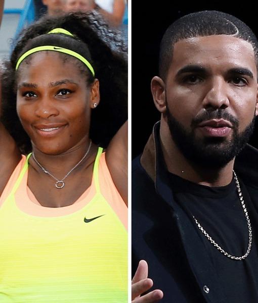 Serena Williams & Drake Pack on PDA After Her Cincinnati Tournament Win
