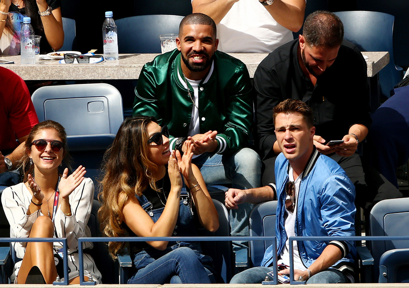 Drake Was on Hand to Console Serena Williams After Her Shocking U.S. Open Loss