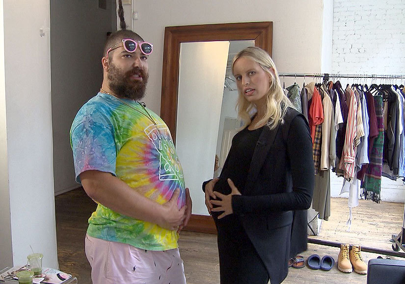 Instagram's 'The Fat Jew' Gets Fashion Week Advice from Karolina Kurkova