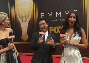 Video! 'Extra's' Emmy Outtakes