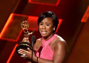 Uzo Aduba Is 'Grateful' After Tearful Emmy Win