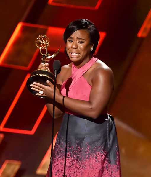 Uzo Aduba Is 'Grateful' After Tearful Emmy Win