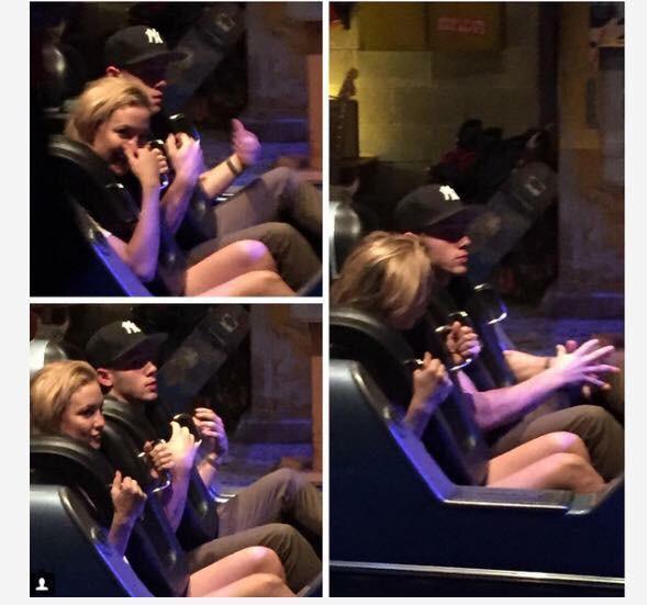 New Couple Alert? Kate Hudson & Nick Jonas Spotted at Amusement Park
