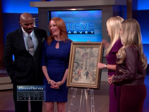 Watch This Woman React After Finding Out How Much Her Painting Is Worth!
