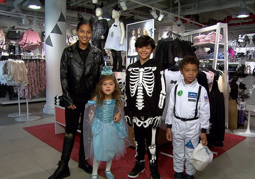H&M Has the Perfect Costumes for Your Little Halloween Fashionistas